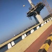 Photo taken at Mandovi Bridge by Rockstarcalling _. on 12/29/2016