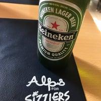 Photo taken at Alps Restaurant & Beer Bar by Rockstarcalling _. on 5/18/2017