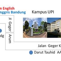 Photo taken at Wisdom English - Saung Kampung Inggris Bandung by Ade A. on 3/31/2014