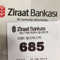 Photo taken at Ziraat Bankası by Metin I. on 8/31/2017