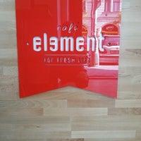 Photo taken at Café Element by Dasa S. on 4/23/2014