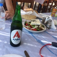 8/5/2017 tarihinde Volkan A.ziyaretçi tarafından Ψαροταβέρνα ο Σέργης'de çekilen fotoğraf