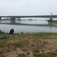 Photo taken at IJssel by Annemieke v. on 9/14/2014