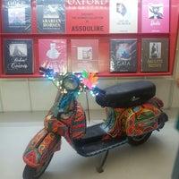 Photo taken at Oxford Bookstore by Tarun S. on 10/24/2014