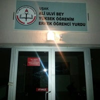 Photo taken at Ali Ulvî Erkek Öğrenci Yurdu by Süleyman A. on 4/10/2014