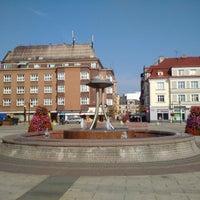 Photo taken at Náměstí ČSA by Linda on 7/23/2015
