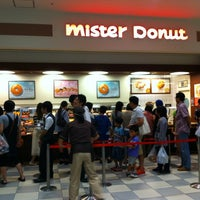 Photo taken at Mister Donut by よっちん on 9/29/2012