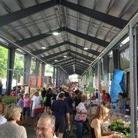 Photo taken at Fulton Street Farmer's Market by Kelly K. on 6/29/2013