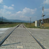 Photo taken at Kozpınar tren yolu by Talat G. on 7/17/2014