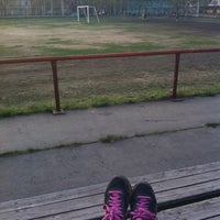 Снимок сделан в Стадион «Строитель» пользователем Майя Л. 5/20/2014