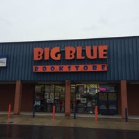 Photo taken at Big Blue Bookstore by Andrew M. on 4/18/2014