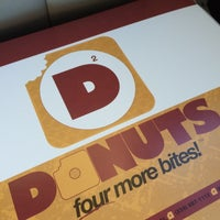 Photo taken at D2 donuts by Andrew M. on 4/9/2016