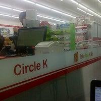 Photo taken at Circle K by Mayka D. on 10/26/2012