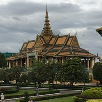 Photo taken at Royal Palace, Phnom Penh by J K. on 12/13/2014