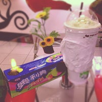 Photo taken at First Cup Coffee@Esso Sukhumvit by eii t. on 10/1/2012
