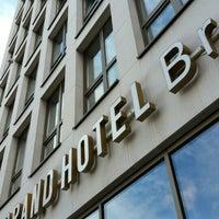 Photo taken at Atlantic Grand Hotel Bremen by Christian S. on 4/22/2016