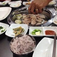 Photo taken at Won Korean by Charis on 12/22/2013