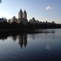 Photo taken at Jacqueline Kennedy Onassis Reservoir by Natasha Friis S. on 7/6/2013