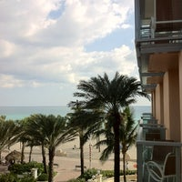Photo taken at Marriott Hollywood Beach by Greg F. on 11/26/2012