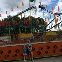 Photo taken at Wildcat Roller Coaster by Greg F. on 8/30/2014