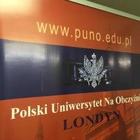 Photo taken at POSK Polski Ośrodek Społeczno-Kulturalny by Jaroslaw M. on 8/12/2016