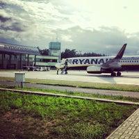 Photo taken at Bydgoszcz Ignacy Jan Paderewski Airport (BZG) by Jaroslaw M. on 7/19/2013