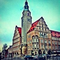 Photo taken at Ratusz w Olsztynie / Urząd Miasta Olsztyn by Jaroslaw M. on 11/27/2013