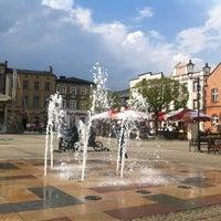 Photo taken at Kościerzyna Rynek by Jaroslaw M. on 5/8/2013