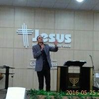 Photo taken at Igreja Batista Getsêmani - Missão Buritis - Novo Templo by Rosanna Állana M. on 5/25/2016