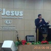 Photo taken at Igreja Batista Getsêmani - Missão Buritis - Novo Templo by Rosanna Állana M. on 6/9/2016