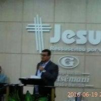 Photo taken at Igreja Batista Getsêmani - Missão Buritis - Novo Templo by Rosanna Állana M. on 6/19/2016
