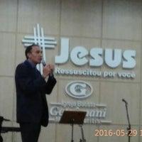 Photo taken at Igreja Batista Getsêmani - Missão Buritis - Novo Templo by Rosanna Állana M. on 5/29/2016