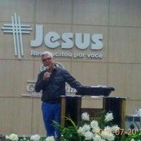 Photo taken at Igreja Batista Getsêmani - Missão Buritis - Novo Templo by Rosanna Állana M. on 7/20/2016