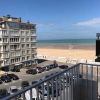 Photo taken at Koksijde-Bad by Jens S. on 6/17/2017