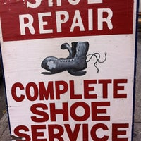 Photo taken at George's Shoe Repair by gmeinerray on 8/2/2013