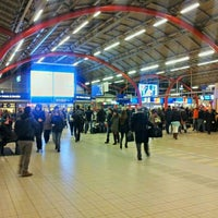 Photo taken at Utrecht Central Station by Ty E. on 2/8/2013