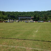 Photo taken at Briarwood Soccer Fields by Just E on 5/17/2014