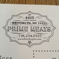 Photo taken at Prime Meats by J. T. on 3/29/2013