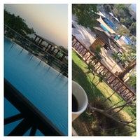 Photo taken at Dead Sea Beach (Holiday Inn Resort) by Ahmad A. on 7/24/2015