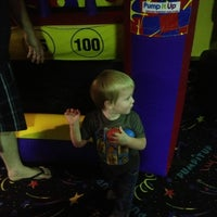 Photo taken at Pump It Up by Becky W. on 6/23/2013