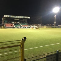 Photo taken at Sporting Hasselt by Ahmet A. on 2/23/2018