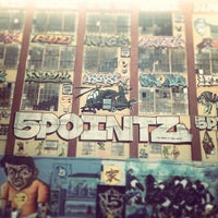 Photo taken at 5 Pointz by Jeremy T. on 8/3/2013