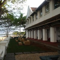 Photo taken at The Old Light House Bristow Hotel by Adler Tours & Safaris Pvt. Ltd. on 9/30/2012