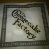 Photo taken at The Cheesecake Factory by Tony R. on 2/18/2013
