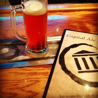 Photo taken at Capital Ale House by SingleMan P. on 9/16/2012