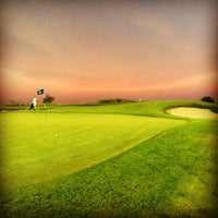 Photo taken at Yas Links Golf Course by SingleMan P. on 7/8/2013