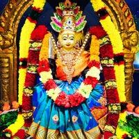 Photo taken at Clairwood Shree Siva Soobramonior Temple by Sudarshan V. on 8/9/2014