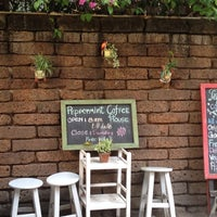 Photo taken at Peppermint Cafe by guruworks on 1/4/2014