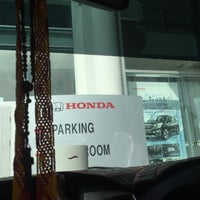 Photo taken at Honda Service Centre by Black R. on 3/19/2016
