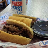 Photo taken at Lenny's Sub Shop by Andre D. on 3/30/2014